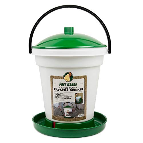 Harris Farms Poultry Drinker, 6.25 Gallon by Harris Farms