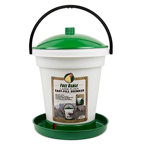 Harris Farms Easy-Fill Poultry Drinker, 6.25 Gallon
