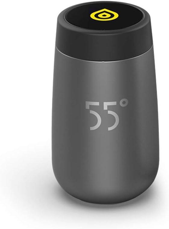 RNGNB Botella de Agua Inteligente, Taza de enfriamiento rápido Taza mágica Inteligente Taza termostática de vacío Botella de Agua de Acero Inoxidable Deportiva Taza de café 180 ml Smart Water Bottle