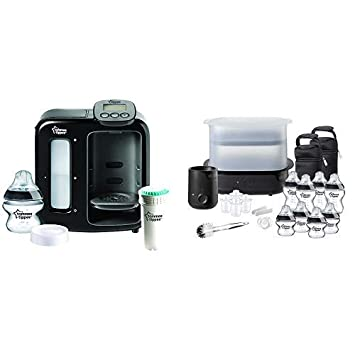 Tommee Tippee Perfect Prep Day /& Night White FFP Complete Feeding Kit