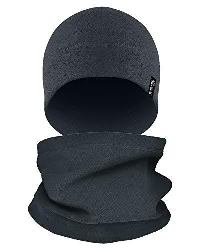 Tactical Fleece Cap Winter Warm Beanie Multi-Season Watch Cap Military Army 2 Pack