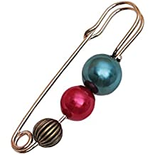 Fashion Women Jewelry Multicolored Brooch Safety Pin