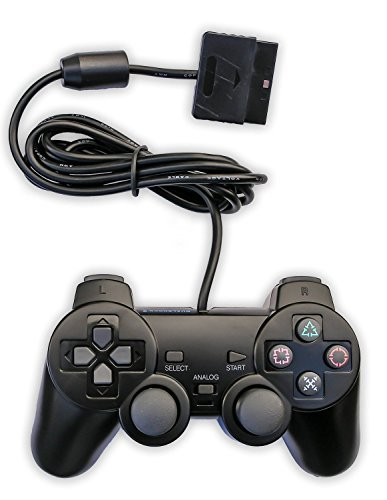 Donop® Wired Game Pad Game Gaming Controller Joypad - Singstar Playstation 2 Bundle