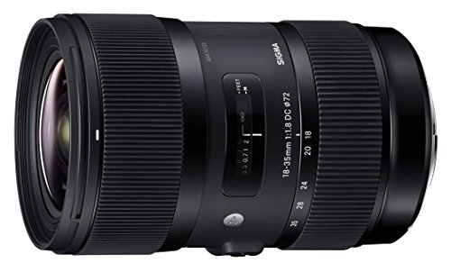 Sigma 18-35mm F/1.8 DC HSM Lens for Canon APS-C DSLR Cameras (Certified - Lens Art Sigma Canon