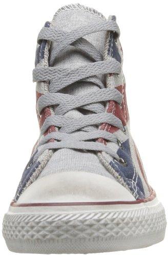 Converse Chuck Taylor All Star Uk Canv Hi 310180-31-5 - Zapatillas de tela para niños Azul (Blau (BLEU/ROUGE/BLANC))