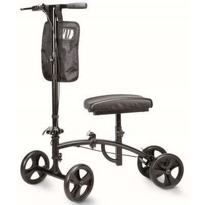 Cardinal Health CWAL240KS Knee Scooter with 8 in. Wheels, Supports 300 lb