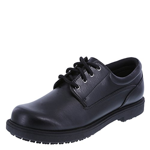 safeTstep Slip Resistant Women's Black Women's Deidre Oxford 11 Wide