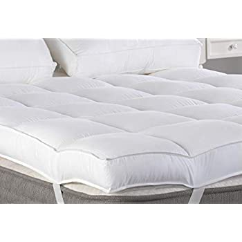 Amazon Com Marine Moon Twin Mattress Topper Plush Pillow