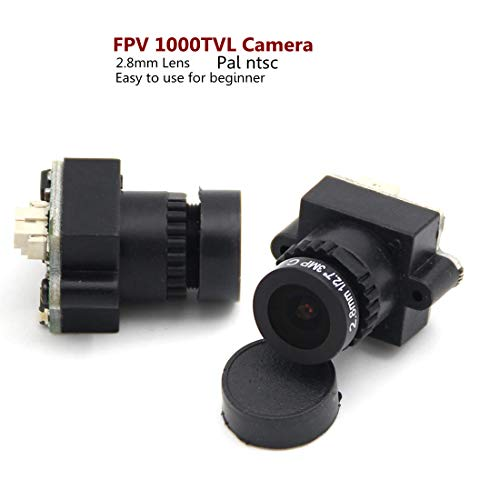 LEACO FPV Mini Digital Video Camera FPV-1000TVL 1000 TVL Line 2.8mm NTSC PAL w/Camera lens