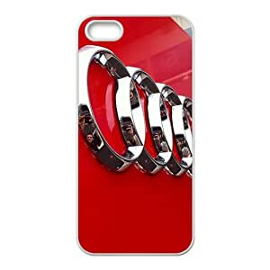 DASHUJUA Audi sign fashion cell phone case for iPhone 5S