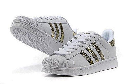 Adidas ue Mundial 38 Estrela uk 5 Mulheres Sapatilhas 6 eua 5 rqTxn4rFw