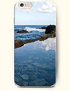 iPhone 6 Case 4.7 Inches Sea and Beach - Hard Back Plastic Phone Cover OOFIT Authentic by icecream design