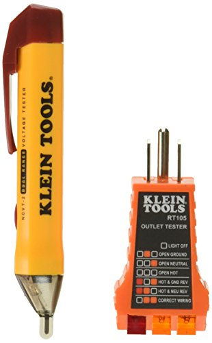 Electrical Tester (KLEIN TOOLS NCVT2KIT Basic Voltage Test Kit)