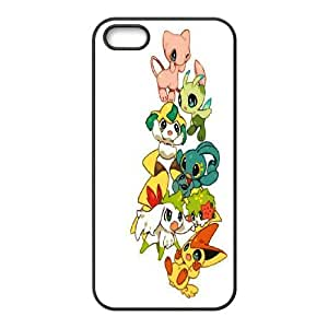 Pokemon Charmander Bulbasaur Mew Cute Eevee Pikachu protective case cover For Apple Iphone 5 5S CasesLHSB9714982