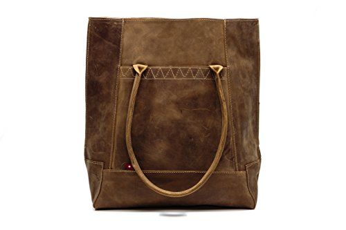 Oliberte Kobio Rustic Brown Handbag by Oliberte