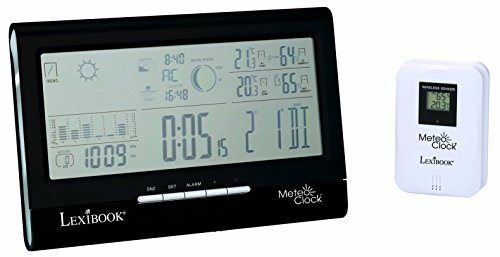 Lexibook Weather Station MeteoClock Full