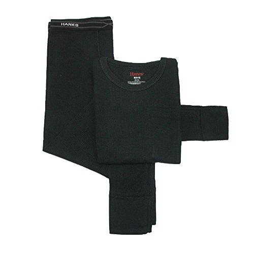 kids black thermal underwear - 5