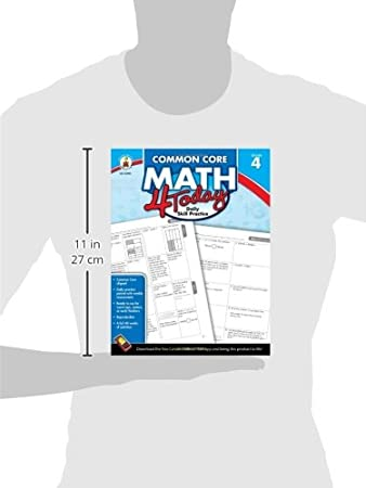 Amazon.com: CDP104593 - Carson Dellosa Common Core 4 Today ...