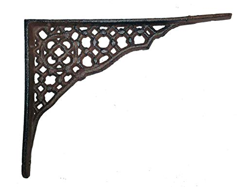 TLT Rustic Small Weaved Cast Iron - Cast Star Iron Corner Brace