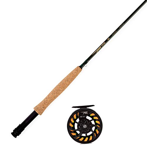 Temple Fork Outfitters TFO NXT Large Arbor Fly Rod and Reel Kit 4-5