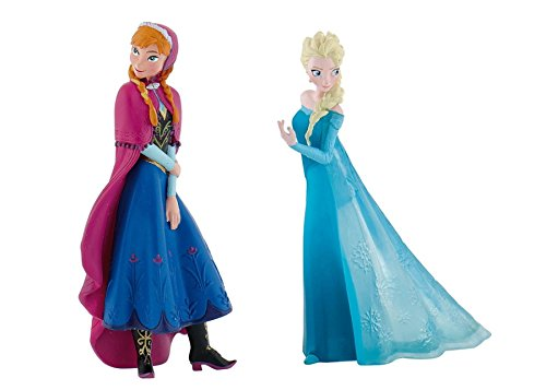Disney's Frozen Elsa and Anna Birthday Party Cake Toppers ()