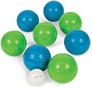 EastPoint Sports Resin 90mm Bocce Ball Set - Features Deluxe Carry Case and All Accessories; Outdoor Fun for K