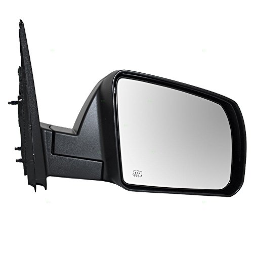 Passenger Power Mirror Heated Textured Replacement for 14-18 Toyota Tundra Pickup Truck 87910-0C440 AutoAndArt