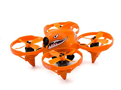 DYS Shark Mako 100mm Micro FPV Drone Brushless - Orange (BNF Frsky Version)