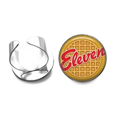 eleven-eggo-waffle-silver-plated-ring-stranger-things