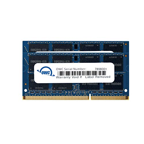 OWC 8GB (2x4GB) 1333MHz 204-Pin DDR3 SO-DIMM PC3-10600 CL9 Memory Upgrade Kit, (OWC1333DDR38S08)