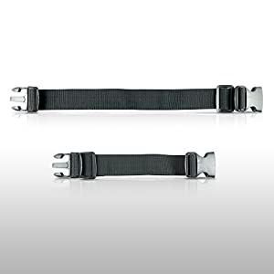 Gear Beast Running Belt Extender for Gear Beast Running Belts, Travel Packs and Hydration Belts (Up to 12 Inches)