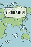 Liechtenstein: Ruled Travel Diary Notebook or Journey  Journal - Lined Trip Pocketbook for Men and Women with Lines