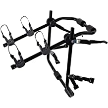 Motorup America Deluxe 2-Bike Rack Trunk Mounted - Bicycles Carrier for Auto Fits Most Car Sedans, Hatchbacks, Minivans and SUVs