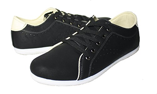 Eurbak Hombres 1651 Sneaker Shoe Black