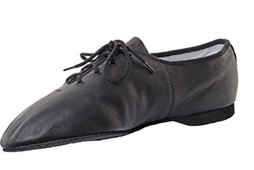 462 Jazz taglia per bambini suola SO462 adulti da 9 scarpe Bloch pelle per S0462 Black in 1 per zqE4Atw