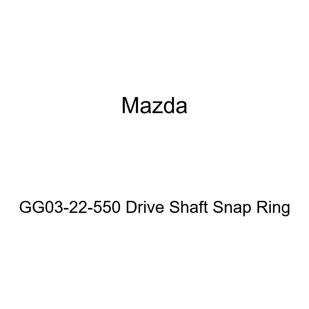 Mazda GG03-22-550 Drive Shaft Snap Ring