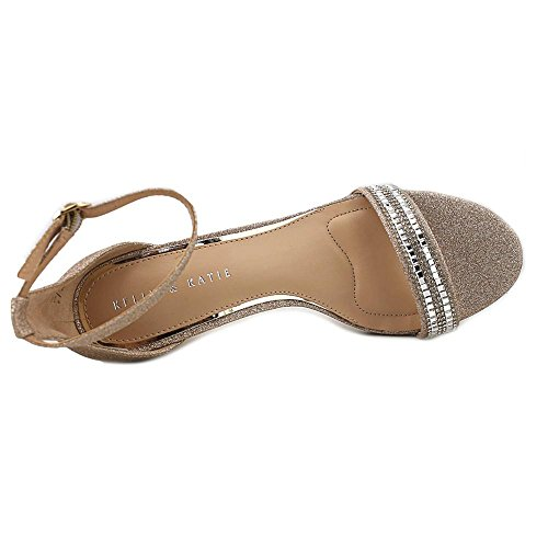 Toe Katie Kirstie Champagne amp; Kelly Strap Womens Sandals Open Ankle Casual 5XwUxfx