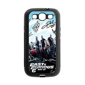 Autographs of Fast and Furious 6 main actors HD image printed custom designer Samsung Galaxy S3 I9300 hard case cover