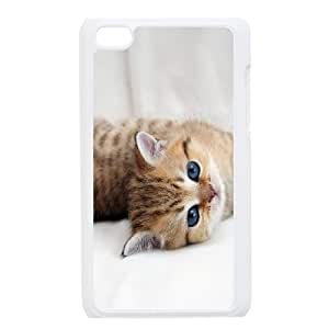 Cute pet cat HD Photo PC Hard Plastic phone Case Cover FOR IPod Touch 4 ZDI021624