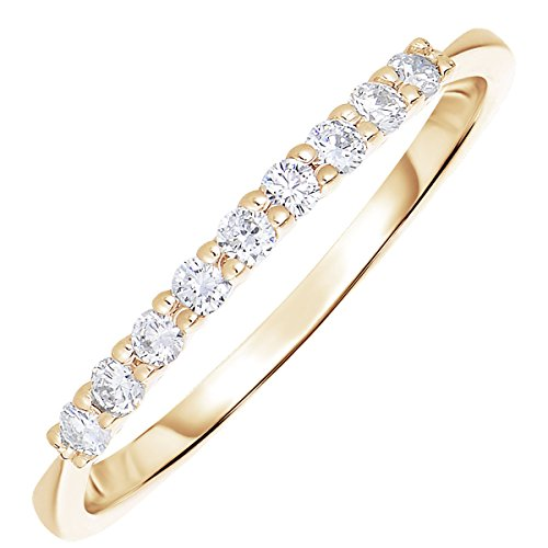Yellow Gold 1/5 Ct Prong - 3