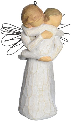 Willow Tree Angel's Embrace Ornament by Susan Lordi 26089