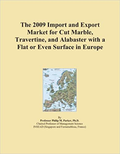 The 2009 Import and Export Market for Cut Marble, Travertine