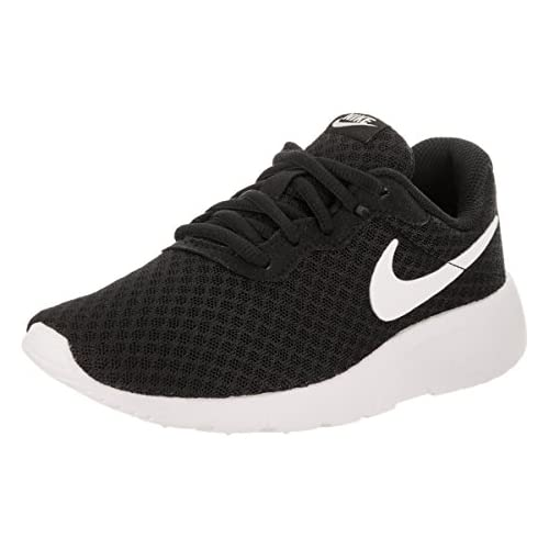 chollos oferta descuentos barato Nike Tanjun PS Zapatillas para niño color negro blanco talla 35