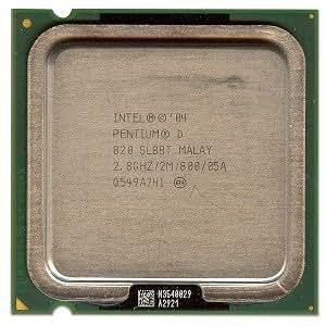 Intel Pentium D 820 2.8GHz 800MHz 2x1MB Socket 775 Dual-Core CPU