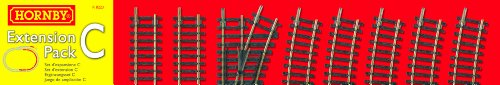 Hornby R8223 00 Gauge Track Extension Pack C for sale  Delivered anywhere in USA