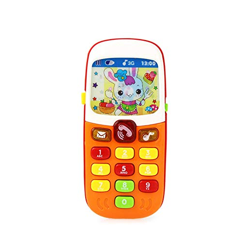 GRACEON Simulation Music Mobile Phone Toy | Camera Phone Toy | Baby Puzzle Phone Toy|Pretending Toy Phone|A New Phone for Kids -