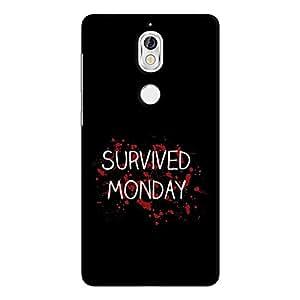 Cover It Up - Monday Survivor Nokia 7 Hard Case