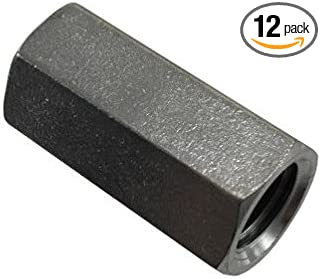 1//4-20-Inch 8-Pack Stainless Steel Coupling Nut