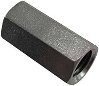 5//8-11 Zinc Plated Threaded Rod Coupling