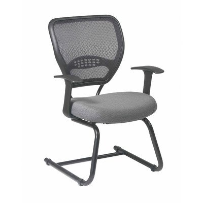 Space Seating Professional Visitors Chair Fabric: Icon - Navy